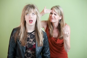 Frustrated Mom